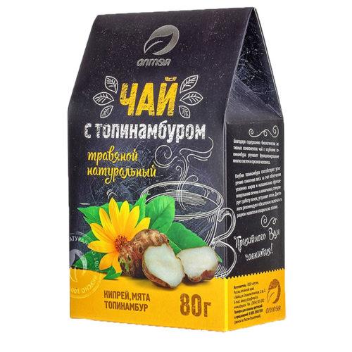 Чайный напиток «Чага с топинамбуром» 80 г