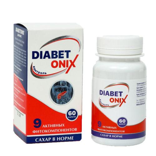 DIABETONIX для эндокринной системы 60 капсул