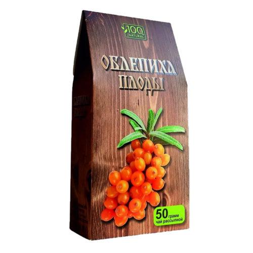"""Чайный напиток """"Облепиха плоды"""" 50 г"""