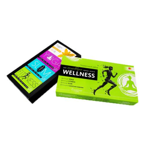 Фарм-продукт подарочный набор для активного образа жизни wellness 4 предмета