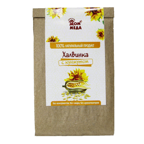 «Халвинка» Медово-подсолнечная композиция с семенем кунжута 60 г