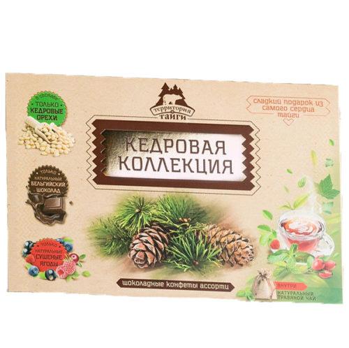 Кедровая Коллекция ассорти 120 г