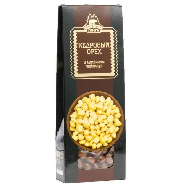 Кедровый орех в молочном шоколаде драже   100 г