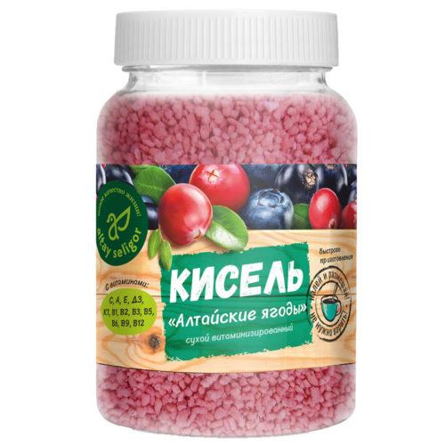 """Сухой кисель """"Алтайские ягоды"""" 230 гр"""