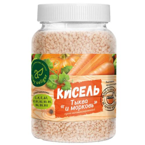 "Сухой кисель ""Тыква и морковь"" 230 гр"