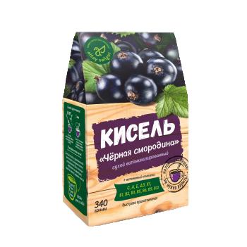"""Сухой кисель """"Черная смородина"""" 340 гр"""