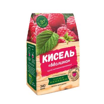 "Сухой кисель ""Малина"" 340 гр"