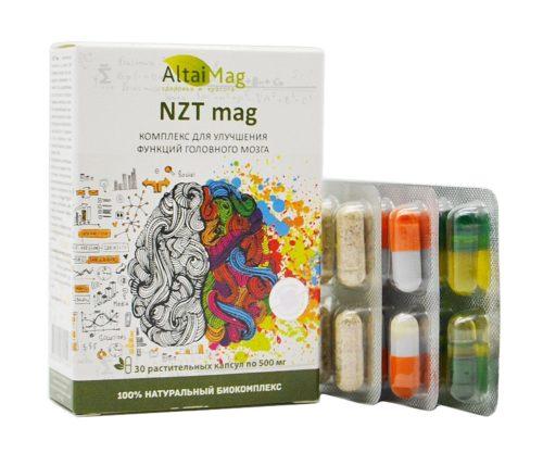 """""""NZT мag"""" Для улучшения мозговой деятельности, 30 капсул"""
