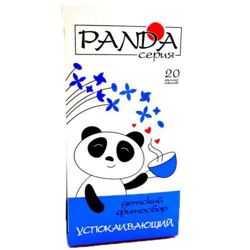 Травяной фитосбор «Успокаивающий» серия «Панда» 20 фильтр-пакетов по 1,5 гр.