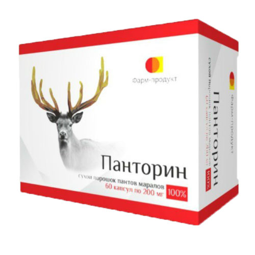 Фарм-продукт панторин 60 капсул