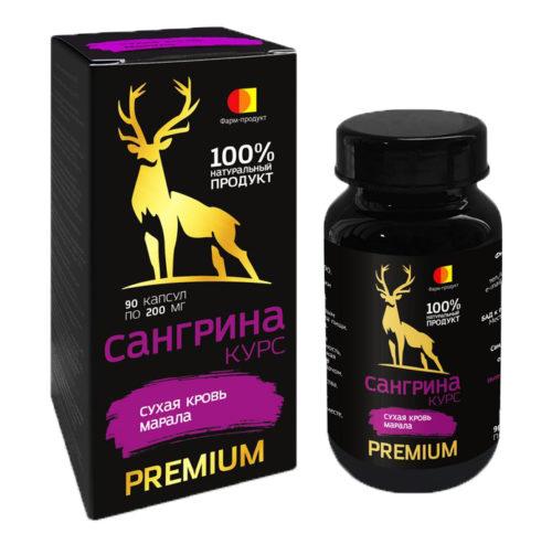 Фарм-продукт сангрина Premium 90 капсул