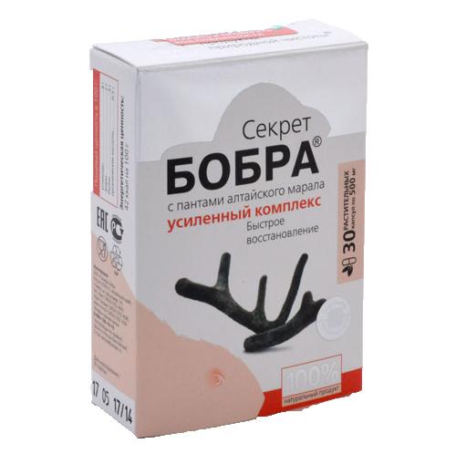 """Секрет бобра """"Усиленный комплекс"""" 30 капсул"""