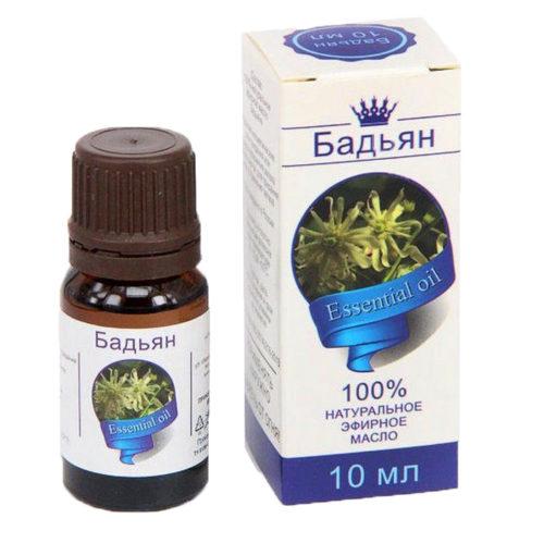 Эфирное масло Бадьян 10 мл