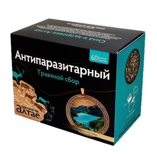 Травяной сбор «Антипаразитарный» 60 фп