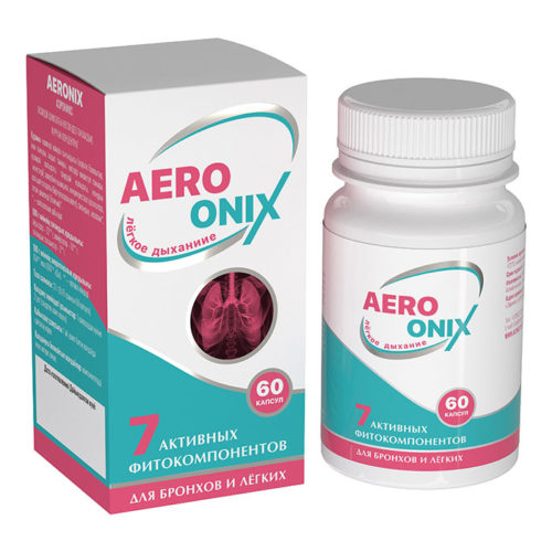 AERONIX для здоровья бронхов и лёгких 60 капсул