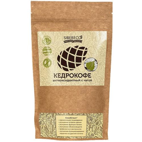 Кедрокофе Антиоксидантный с чагой (без сахара) 250 г