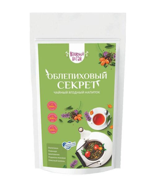 """Чай ягодный """"Облепиховый секрет"""" 80 гр"""