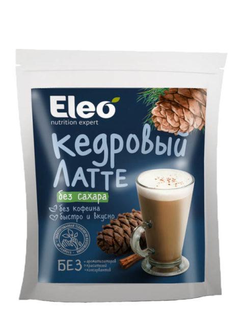 """""""Eleo"""" Напиток кедровый Латте без сахара 150 гр"""