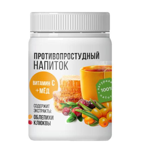 """""""Altay-seligor"""" Напиток сухой противопростудный Облепиха - клюква 200 гр"""